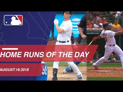 Home Runs of the Day: 8/19/2018