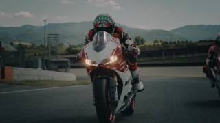 4. Ducati 1299 Panigale R Final Edition in action with WSBK riders Chaz Davies and Marco Melandri
