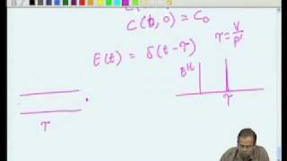 Mod-05 Lec-39 Nonideal Flow And Reactor Performance