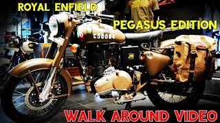 10. Enfield Pegasus Edition 500   Walkaround   Military Edition  Happy Journey