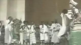 Afar dance from East Africa.