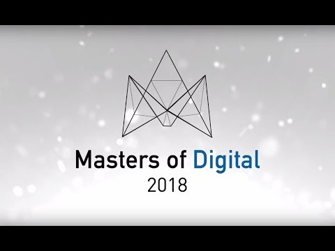 Watch a video called 'DIGITALEUROPE Masters of Digital 2018 - THE MOVIE'