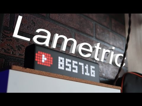 Часы для ТехноГика (Lametric Time)
