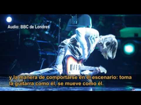 'Kurt Cobain peruano' llegó a Londres con entrevista de la BBC