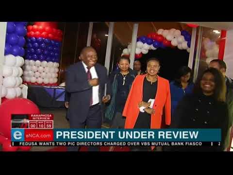 Ramaphosa arrives at eNCA