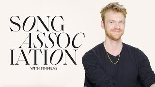 Finneas Sings Justin Bieber, Billie Eilish and Rihanna in a Game of Song Association | ELLE