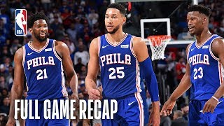 NETS vs 76ERS | Philly Marches into East Semis | Game 5 by NBA