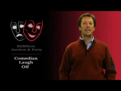 Comedian Jeff Wozer for B2BSeen Party & Auction, BMA Colorado