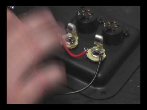 "How to wire and solder 2-1/4"" Speaker Jacks in Parallel"