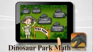 Dinosaur Park Math YouTube video