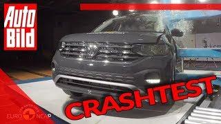 VW T-Cross (2019): Crashtest - Euro NCAP - Sicherheit - SUV by Auto Bild