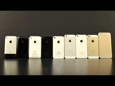 Apple IPhone 6 Vs 5S 5C 5 4S 4 3GS