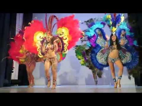 Бразильское шоу Crazy Samba на ежегодном мероприятии National Geographic Traveler Awards 2015