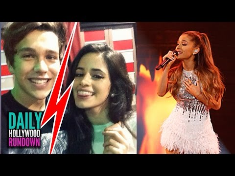 "Austin Mahone Splits W/ Camila Cabello? – Ariana Grande's New Single ""Santa Tell Me"" LISTEN (DHR)"