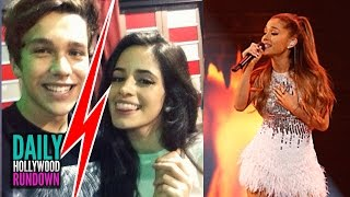 "Austin Mahone Splits W/ Camila Cabello? - Ariana Grande's New Single ""Santa Tell Me"" LISTEN (DHR)"
