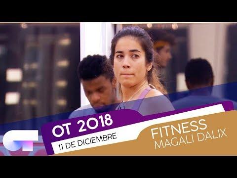 Clase de FITNESS con MAGALI (11 DIC)  OT 2018
