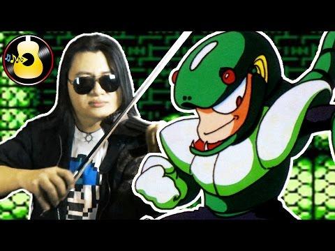 Mega Man 3 - Snake Man Theme (Violin Rock Cover/Remix) || String Player Gamer