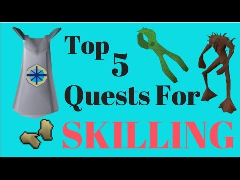What Quests To Complete First In OldSchool RuneScape - Skillers