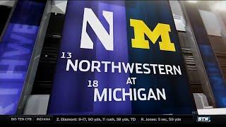 Northwestern at Michigan - Football Highlights