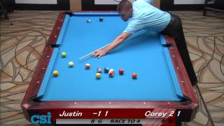 CSI 2013 US Open One Pocket Deuel Vs Hall
