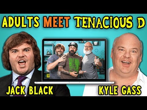 Download Adults React To And MEET Tenacious D (Jack Black/Kyle Gass) HD Mp4 3GP Video and MP3