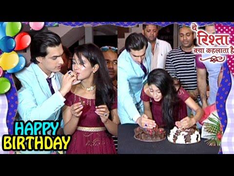 Mohsin CELEBRATES Shivangi's BIRTHDAY On Set | Yeh