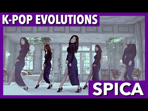 SPICA 스피카: K-POP EVOLUTIONS (видео)