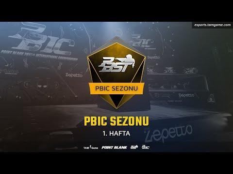 PBST 2018 PBIC Sezonu - 1. Hafta Maçları - Point Blank (видео)