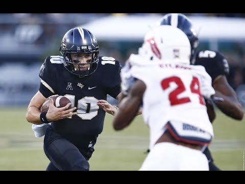 2018 American Football Highlights -  16 UCF 56, FAU 36