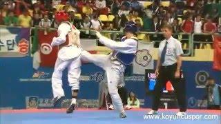 Taekwondo Servet Tazegul sus mejores giros y K.O