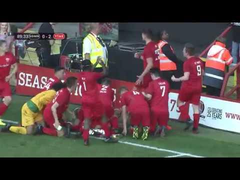 SIDEMEN FC VS YOUTUBE ALLSTARS HIGHLIGHTS 2017 (видео)