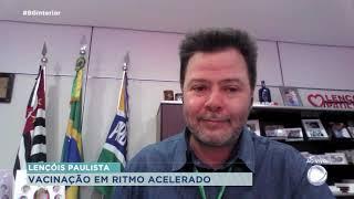Vacinação em ritmo acelerado em Lençóis Paulista