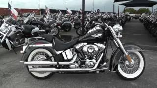 3. 052477 - 2014 Harley Davidson Softail Deluxe FLSTN - Used motorcycles for sale