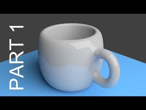 blender - http://www.LittleWebHut.com This Blender 3D video demonstrates how to make an image of a cup with a handle using the cycles render engine. Blender version 2....