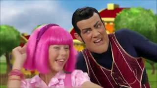 Lazy Town - Bing Bang (Icelandic) Stephanie with Robbie Rotten 3 season.