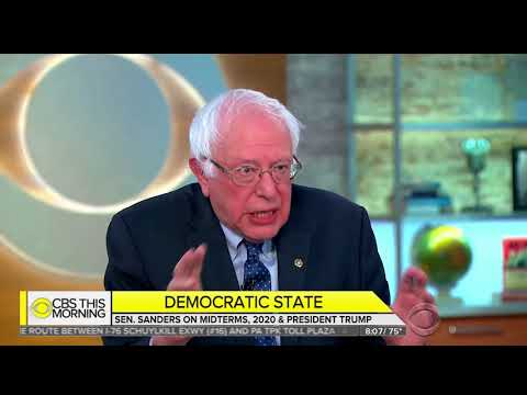 """Bernie Sanders: America Is """"Fundamentally Immoral & Wrong"""" Right Now"""