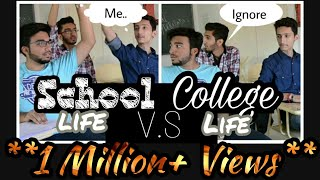 School life vs College life|| Short comedy skit|| The Viral Hyderabadis