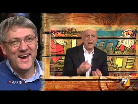 crozza: saviano chiede le dimissioni della boschi dopo gomorra, etrurria