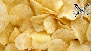 How to make Potato Chips (3 Ingredients)