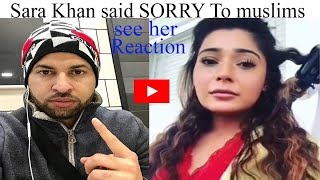 Video Sara khan Apologise to Muslims | Sara khan say... MP3, 3GP, MP4, WEBM, AVI, FLV Desember 2018