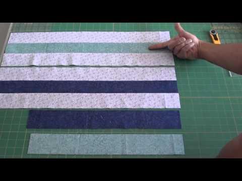 patchwork - blocco zig zag intrecciato