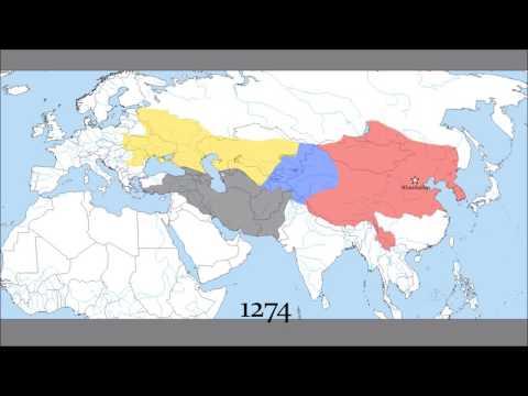 The Mongol Empire 1206 - 1400