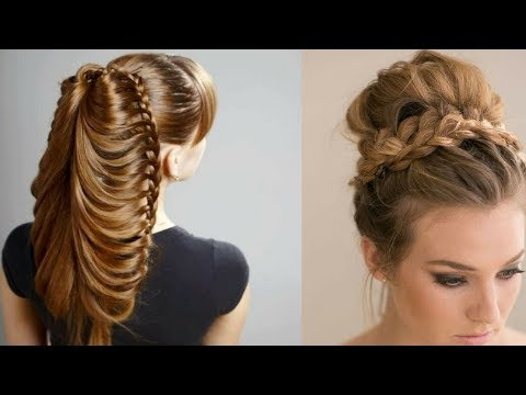 Easy hairstyles - Easy Beautiful Hairstyles Tutorials  Best Hairstyles for Girls # 16