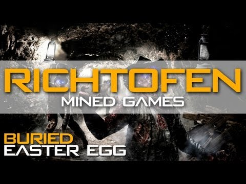 Buried Easter Egg Richtofen Compilation: Mined Games Achievement