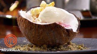 Video Reynold Poernomo's Chamomile Ice Cream With Popcorn | MasterChef Australia | MasterChef World MP3, 3GP, MP4, WEBM, AVI, FLV Juli 2019