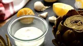 Przepis na sos czosnkowy aioli