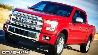 2015 Ford F-150 Engines, 2015 Chevy SS gets Manual, Tesla Model S on the Ring  - Fast Lane Daily
