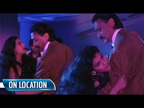 Chaal On Location | Jackie Shroff | Kajol | Flashback Video