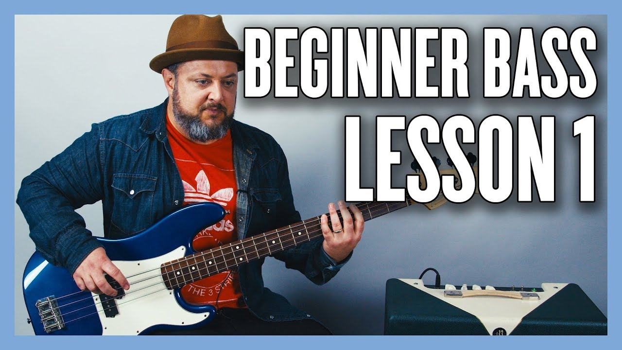 Beginner Bass Lesson 1 – Your Very First Bass Lesson
