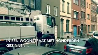 Bekijk het verkeer in de Borsbeekstraat